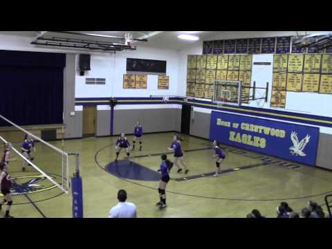 2/20/2014 Volleyball Nuttall Middle School vs. Paris-Crestwood - Set 2