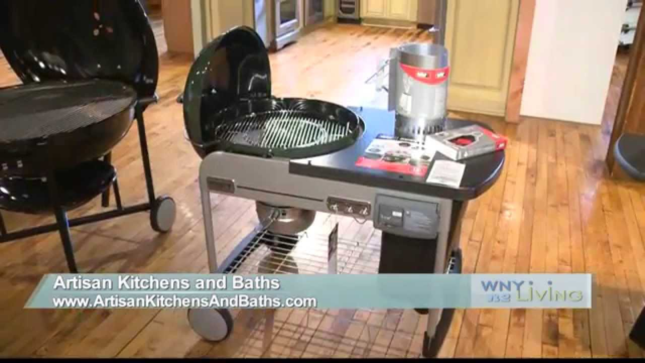 Artisan Kitchens and Baths, Weber Grill on WNY Living - YouTube