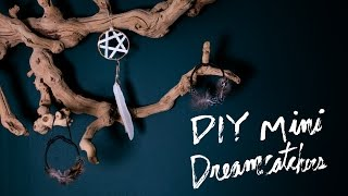 DIY Mini Dreamcatcher Ornament | Bohemian Holiday Decor