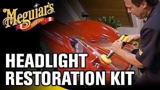 How to Restore Headlights with Meguiar's®  Headlight Restoration Kit