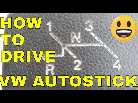 HOW TO : HOW TO DRIVE A CLASSIC VW BEETLE AUTOSTICK TRANSMISSION.