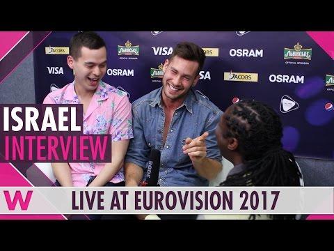 Imri Ziv (Israel) interview @ Eurovision 2017