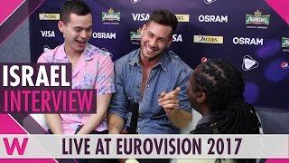 Imri Ziv Israel Interview Eurovision 2017