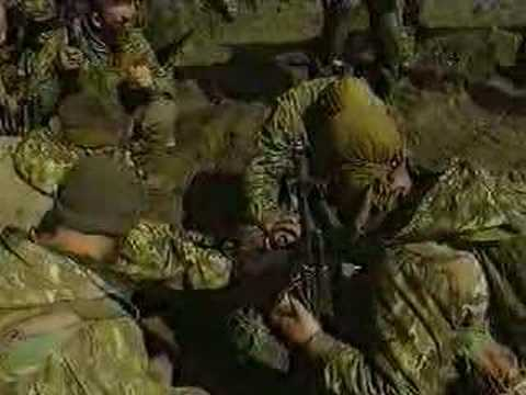 In memory of Russian Soldiers died in Chechnya