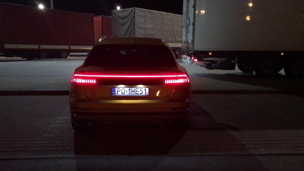 Audi Q8 animacja świateł (Tail Lights)