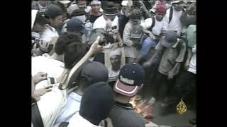 أرشيف - الشرطة الإندونيسية تحقق مع باعشير