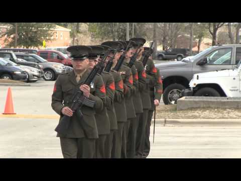 2nd Battalion 2nd Marines Memorial Dedication Ceremony