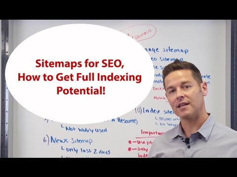 Sitemaps for SEO, How to Get Full Indexing Potential! John Lincoln, Ignite Visibility