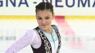 Sofia SAMODUROVA RUS Ladies Short Program EGNA-NEUMARKT 2017