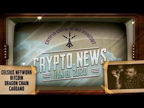 crypto-news-jan-8,-2020---cardano,-tron,-bitcoin,-drgn,-cel