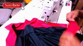 Confeccionando una casaca paso a paso   Como hacer una casaca Deportiva   Como Coser Una Casaca