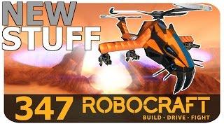 Robocraft New Stuff - T5 Sabre Cat Head Tier 5 Plasma Helicopter