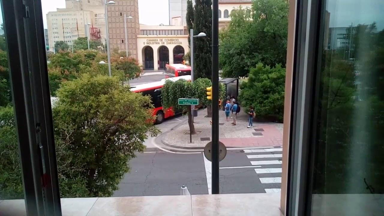 Bus Cuarte plaza emperador - YouTube