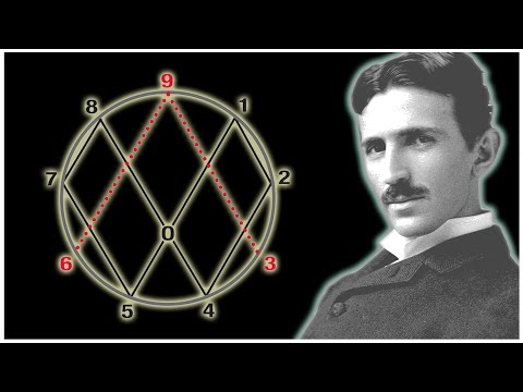NIKOLA TESLA Vortex Math - Everything Adds To 9, 3 And 6
