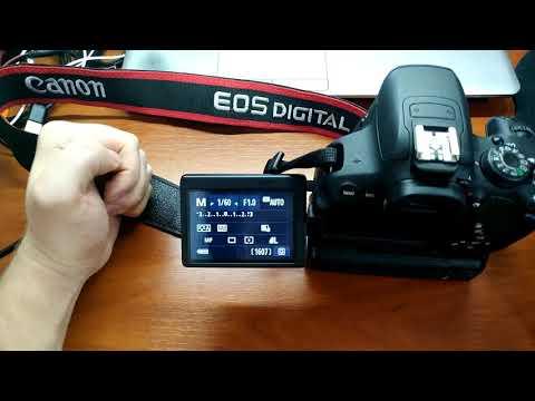 Программирование переходника М42 - Canon / Программирование одуванчика