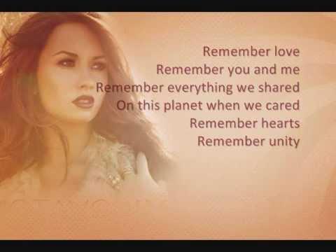 Demi Lovato - Together Feat. Jason Derulo w/lyrics