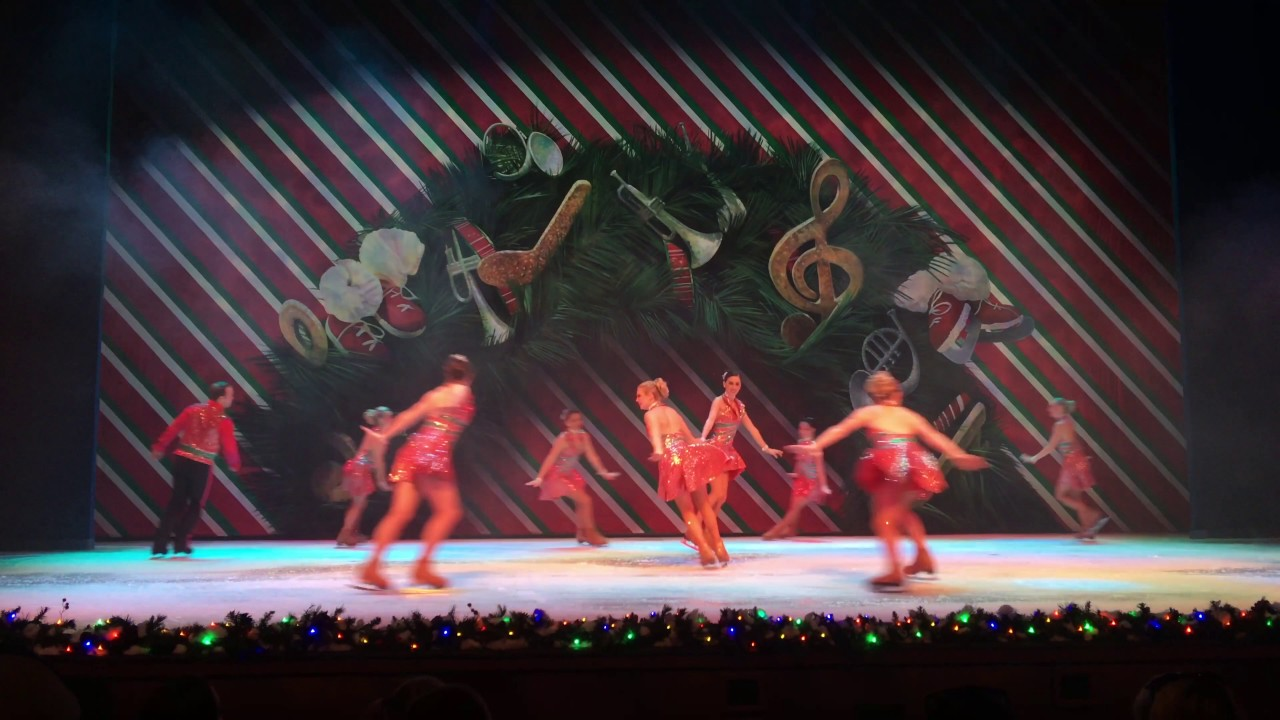 christmas on ice at busch gardens 2016 youtube