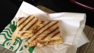 Starbucks Chicken Santa Fe Panini Review