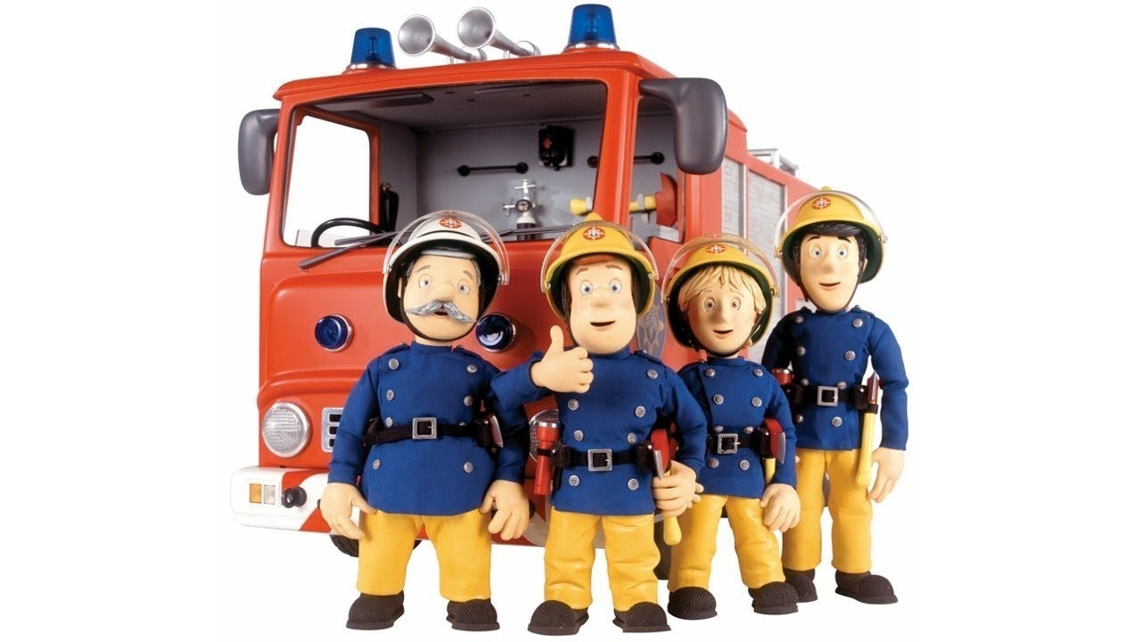 Cartoon Characters Named Sam : Fireman sam new all characters name