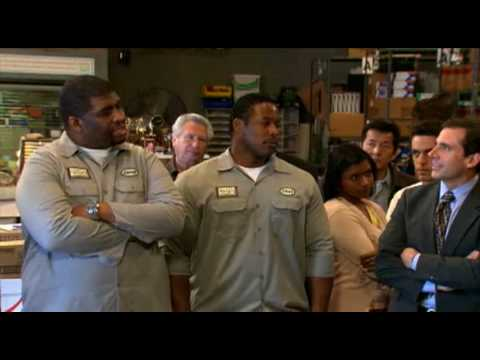 The Office : Michael Scott Safety Training : Baylor - YouTube