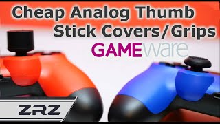 DualShock 4 Analog Thumb Grips 2 / Covers / Caps Silicone - GAMEware - ZRZ