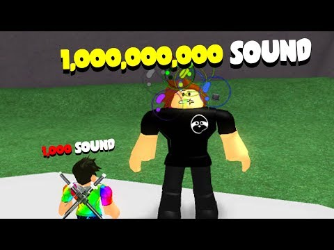 ROBLOX SHOUTING SIMULATOR *TROLLING WITH SOUND*