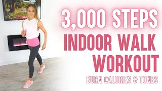 Walk at Home | 3000 Steps | 20 Minute Low Impact Workout | For Health and Weight Loss | Walk Workout
