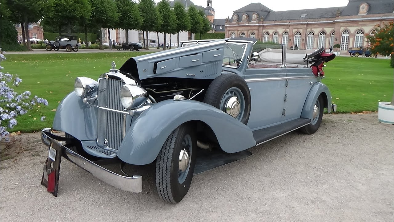1936 1939 maybach cabriolet classic gala schwetzingen. Black Bedroom Furniture Sets. Home Design Ideas