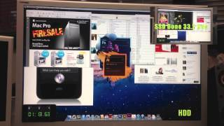 Solid State Drive (SSD) versus Hard Disc Drive - Speed Test