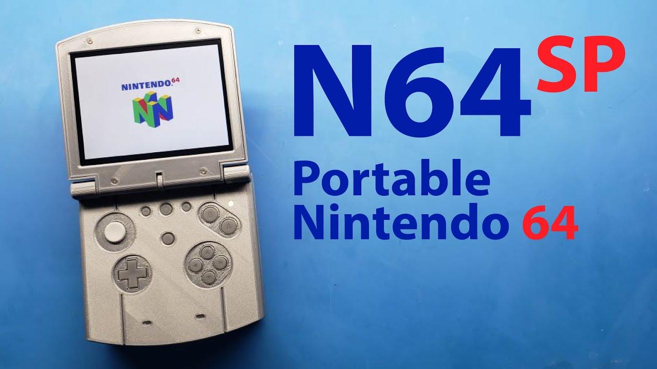 Modder χώρεσε Ν64 σε ένα ... Game Boy Advance SP!
