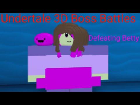 Defeating Final Gaster Undertale 3D Boss Battles Roblox