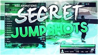 Secret Jump Shots on NBA 2K16