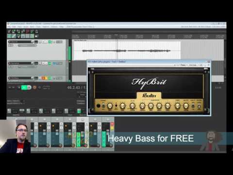 FREE BASS FX CHAIN - Mixing in Reaper