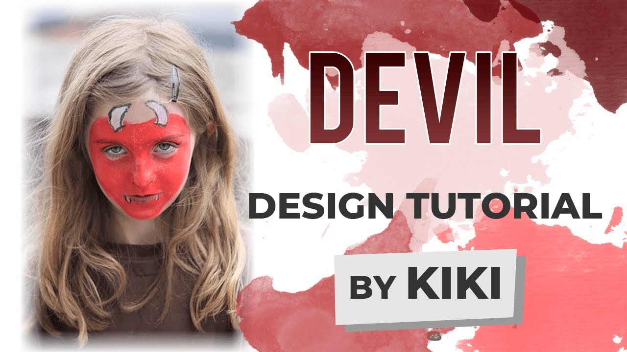 Uncategorized Devil Face Painting devil face painting tutorial youtube