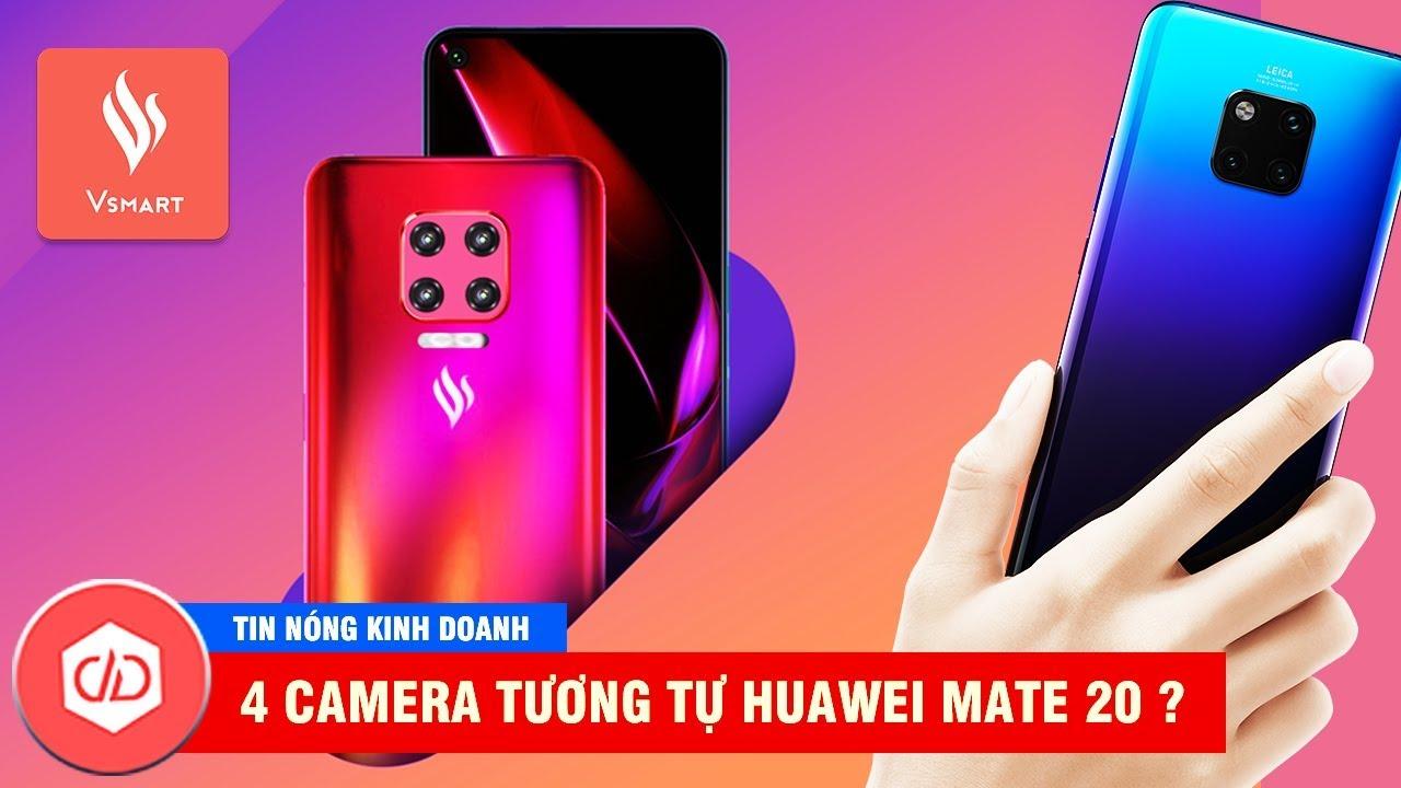 Vsmart Lux Sẽ Có 4 Camera & Ra Mắt Vào Tháng 7? | TIN NÓNG KINH DOANH