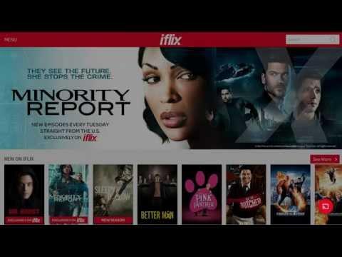 Iflix Test On Tm Hypptv Set Top Box Huawei Ec6108v8 Youtube