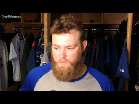 Andrew Cashner talks about his debut with Rangers