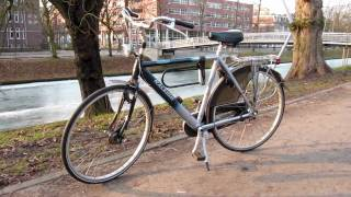 Two everyday Bicycles in Utrecht and 's-Hertogenbosch (Netherlands)