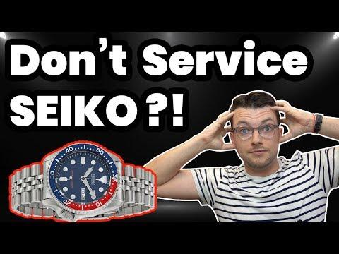 Seiko Repair Truth - Disposable ?!