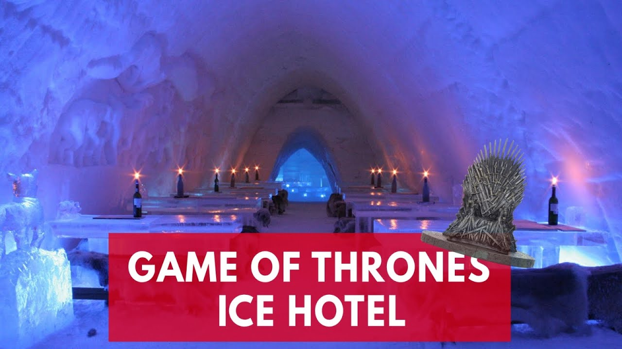 Stay the night at a Game of Thrones ice hotel