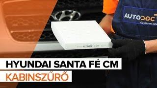 Nézzen meg egy videó útmutatók a HYUNDAI SANTA FÉ II (CM) Felfüggesztés csere