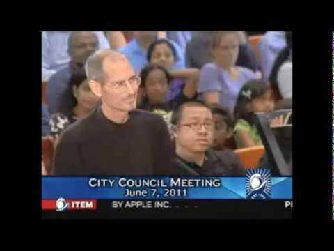 Cupertino Council Meeting 2006 & 2011 - Apple Campus 2 Introduction