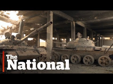 ISIS tank factory explored in Syria