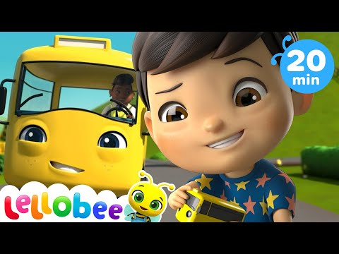 Wheels on the bus | Baby Songs | +More Nursery Rhymes & Kids Songs | Little Baby Bum | Kids Songs