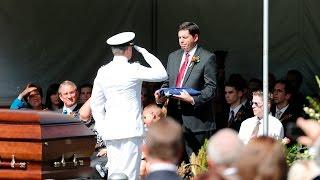 Funeral Services on Temple Square Honor Elder Richard G. Scott