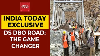 India Today Exclusive: Journey To The Durbok Shyok-Daulat Beg Oldie Strategic Road| Watch