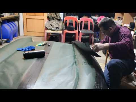 Усиление днища лодки пвх своими руками видео