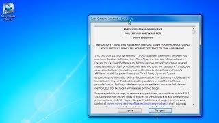 How to eliminate Sony Vegas EULA window