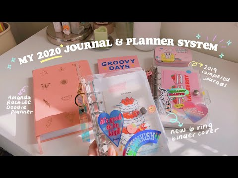 MY 2020 JOURNAL & PLANNER SYSTEM ✨