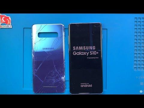 Samsung Galaxy S10+ Plus Arka Cam Kapak Değişimi 🇹🇷